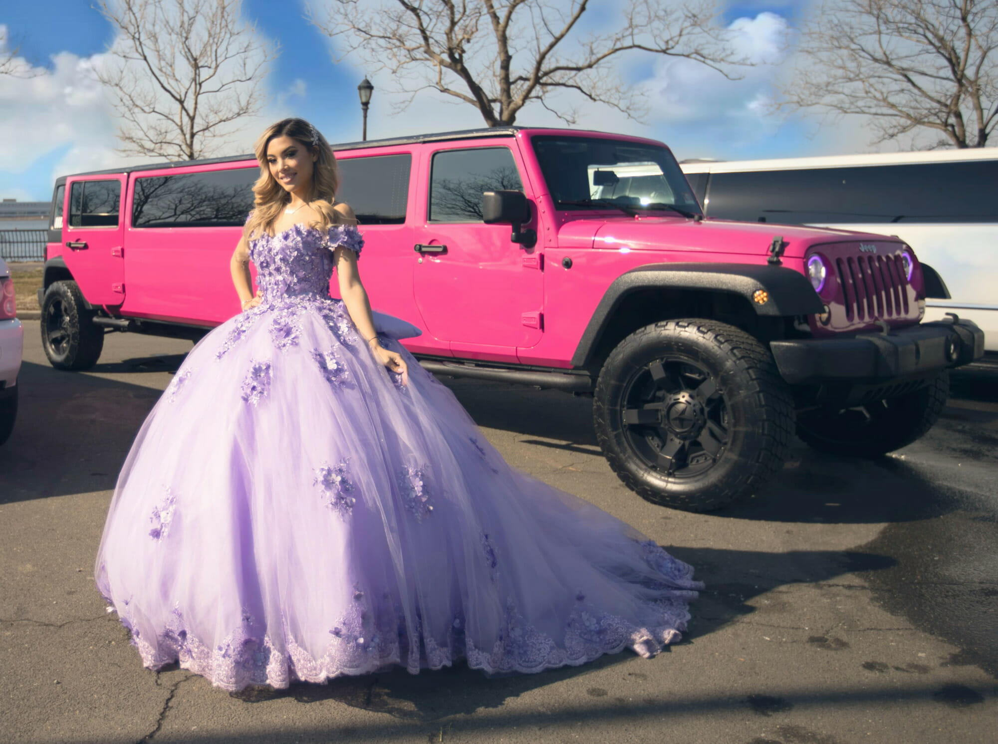 limo service - quinceanera